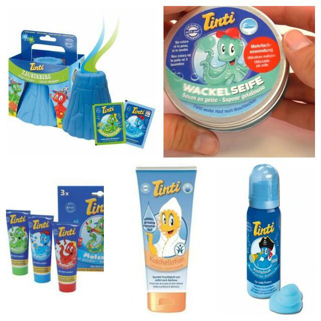produits pour le bain des enfants