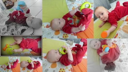 quelles activités pour bébé de 6 mois?