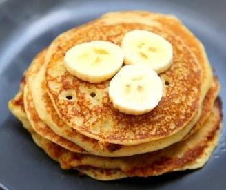 pancakes bananes