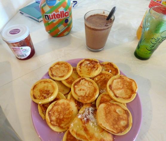 faire des pancakes