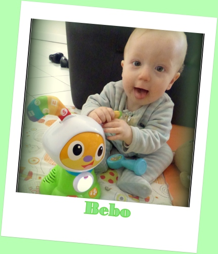 Bebo le robot devellopement bébé