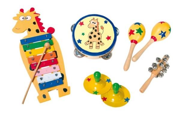 Instrument de musique en bois pour bébé