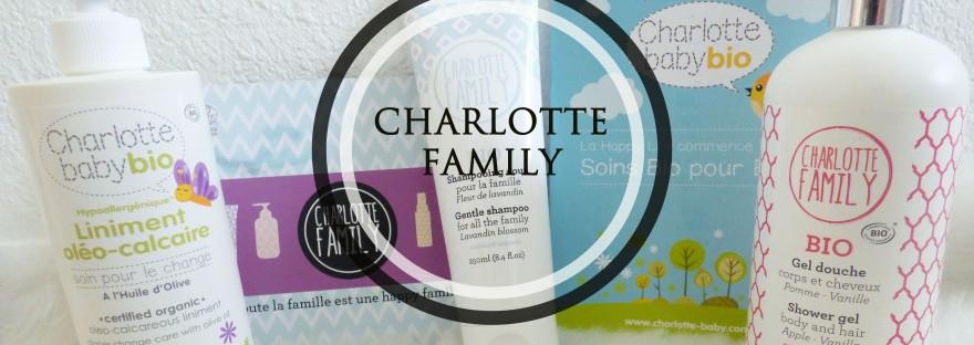 découverte des produits charlotte family