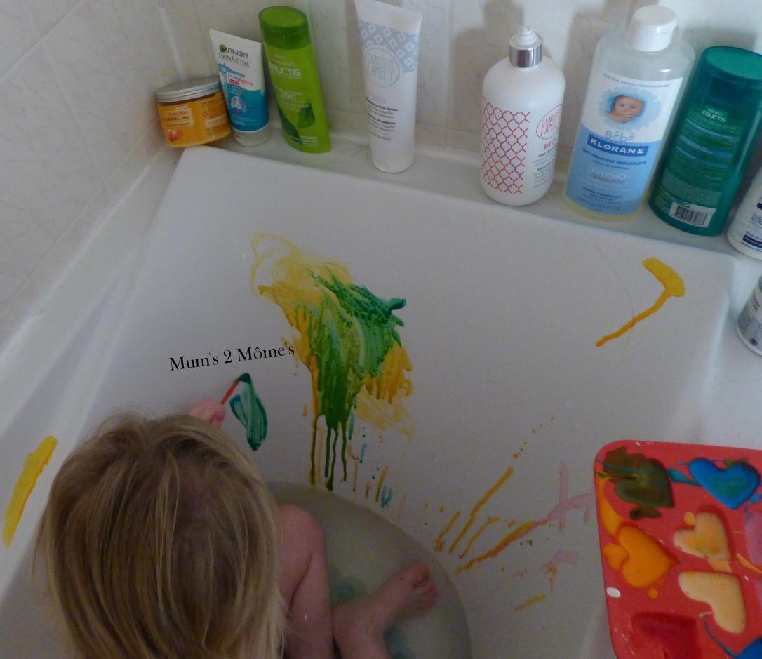 comment faire de la peinture pour le bain?