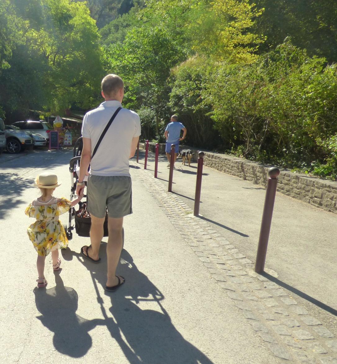 Fontaine du Vaucluse en famille
