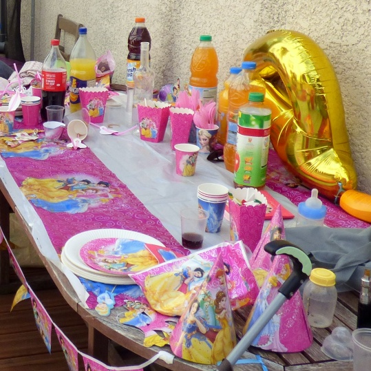 decoration anniversaire princesse
