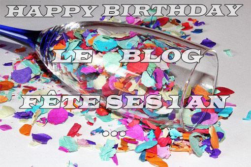 Le blog fête ses 1 an