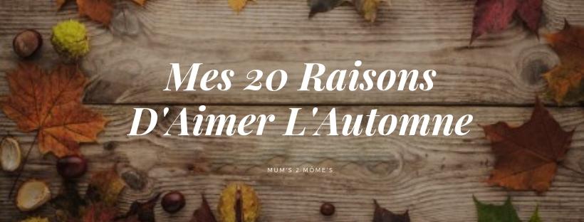 article blog automne